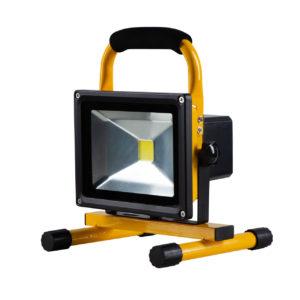Naświetlacze LED akumulatorowe